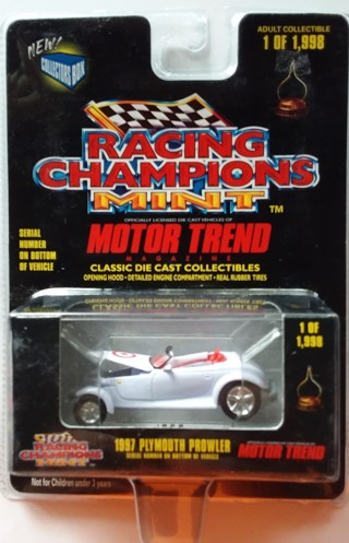 Racing Champions Motor Trend 1997 Plymouth Prowler Target Exclusive