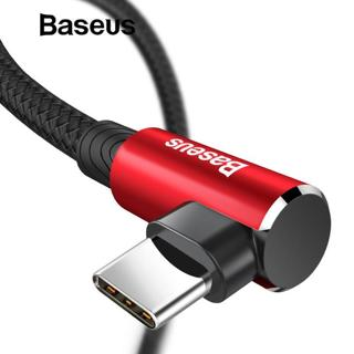 Baseus USB Type C Cable 90 Degree for xiaomi redmi note 7 USB-C Cable for samsung galaxy s9 plus P