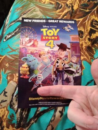 Toy story 4 rewards points