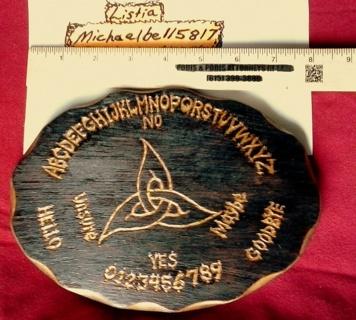1 Of A Kind Pendulum Board With Choice Of Pendulum + Charm!!!