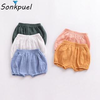 0-3Y Toddler Girl Bread Pants Kid Boy Cotton Bedding Bloomers Baby Clothing Summer Bottoms Playsui
