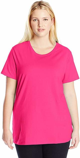 ➡️Women's Plus-Size Short Sleeve Crew Neck Tee - SIZE 1X-5X ⬅️