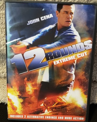 """DVD - """"12 Rounds - Extreme Cut"""" - rated PG-13"""
