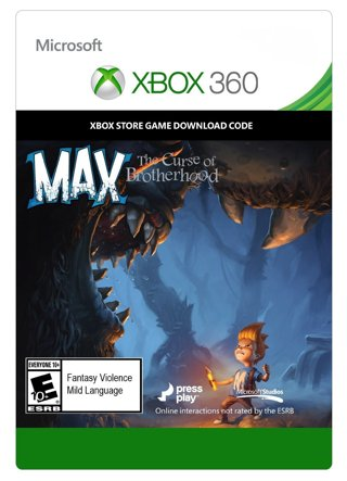 Max: Curse of the Brotherhood game download for Xbox 360