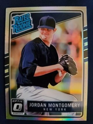 2017 Donruss Optic Rated Rookie Holo Jordan Montgomery