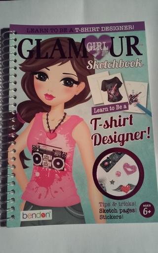 Glamor Girl Sketchbook