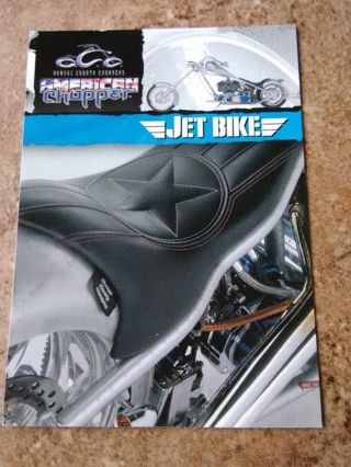 "2004 American Chopper ""Jet Bike"" Collection Card #27"