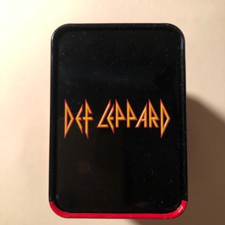 Def Leppard Watch With Black Rock And Roll Band New in Tin