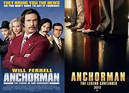 Anchorman 2 uv vudu HDX ultraviolet digital movie