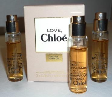 REDUCED! Chloé: Love, Chloé Eau de Parfum for Women Purse Travel Spray Refill 0.34 oz./10ml