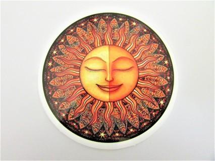 SUN Vinyl Sticker- Helmet/Car/Skateboard/Business/Crafts