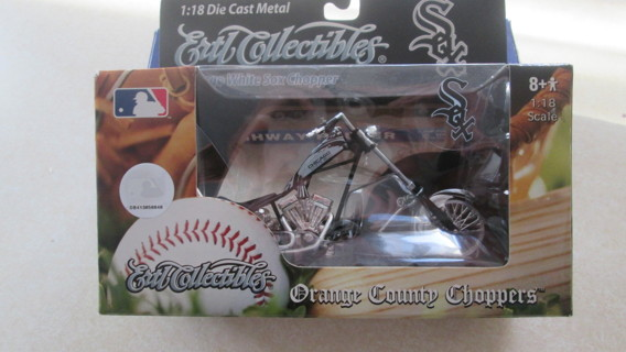 Motorcycle - Ertl Collectibles 1:18th Scale Orange County Choppers Chicago White Sox Chopper
