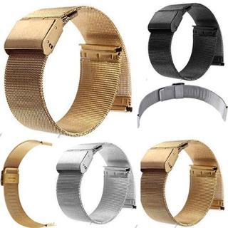 Fashion Milanese Watch Mesh Band Strap Double Clasp Bracelet 14/16/18/20/22