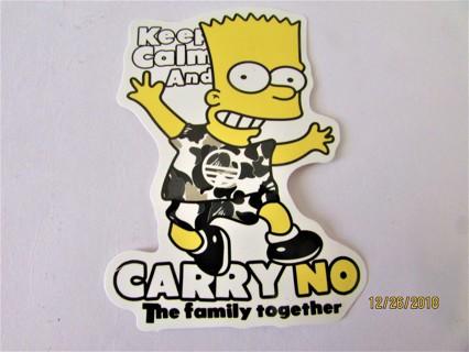 BART Vinyl Sticker- Helmet/Car/Skateboard/Business/Crafts