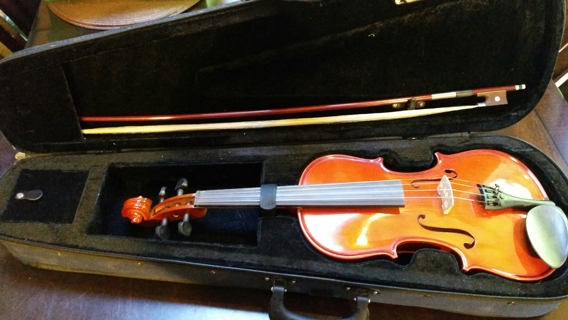 Old Oxford Violin With Bow & Case
