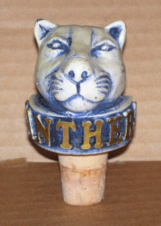 PANTHERS BOTTLE STOPPER
