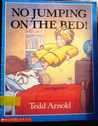 """Scholastic's """"No Jumping on the Bed"""" Children's Reading Book"""