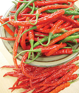 8 plus Long Slim Red Hot Cayenne Pepper seed...
