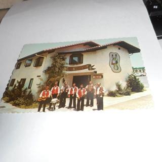 Vintage Hotel Europa Old World Village In Huntington Beach Ca Postcard