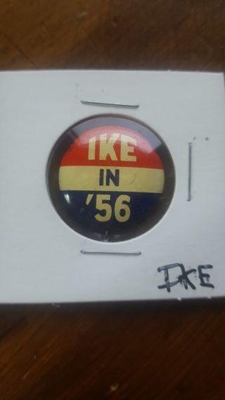 Ike Political Pin