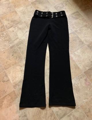 JUNIOR WOMEN'S BLACK DRESS PANTS