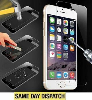 Front Screen Tempered Glass Protector Guard Film Cover Case For iPhone5S 6 6s
