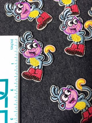 8PCS LOT MONKEY BOOTS DORA PATCHES EASY IRON ON BADGES EMBROIDERED (QTY.8) FREE SHIPPING