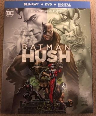 Movie code for Batman Hush Digital HD