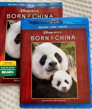 Born in China Blu-Ray & DVD