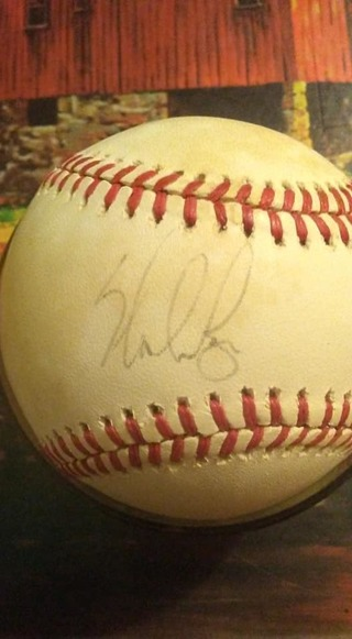 Nolan Ryan Autograph Baseball With COA