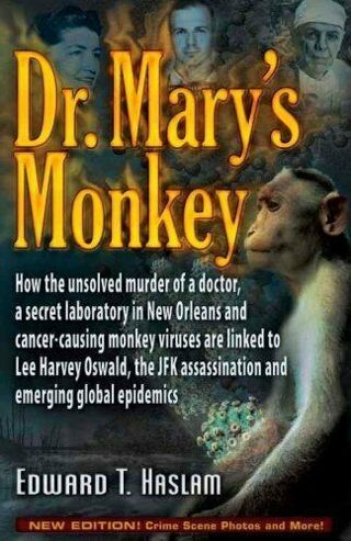 ☆ Dr Mary's Monkey by Edward T. Haslam - Paperback- Like New