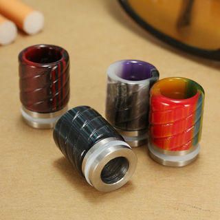 Epoxy Resin Wide Drip Tip Mouthpiece Replacement For SMOK TFV8 Tank/Kennedy