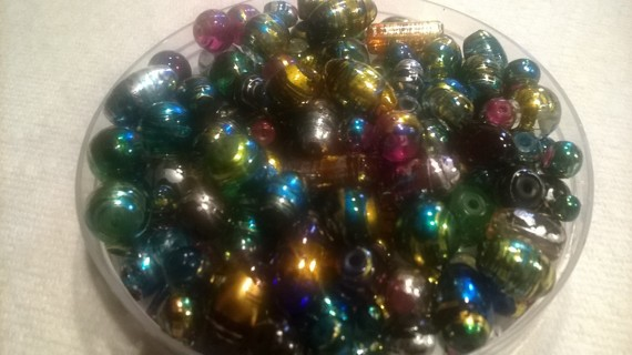 Colorful Glass Beads for jewelry making