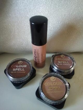 Color Spell Eyeshadows & Lip Matte