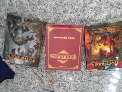 Pathfinder 2nd edition Books New
