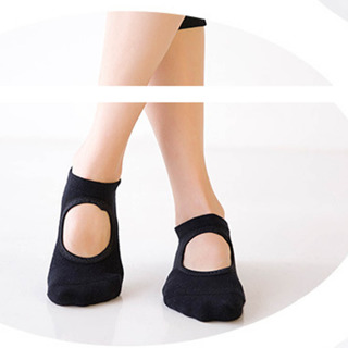 Women's Yoga Socks Barre Socks Pilates Socks Toeless Non Slip Skid With Grips