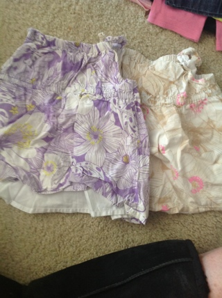2 Old Navy sundresses size 18-24 months