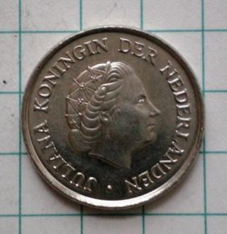 Netherlands 25 Cents 1979
