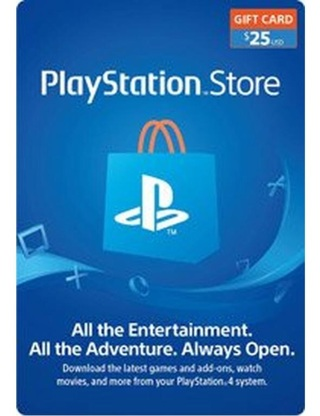 PlayStation Store $25 Gift Card!