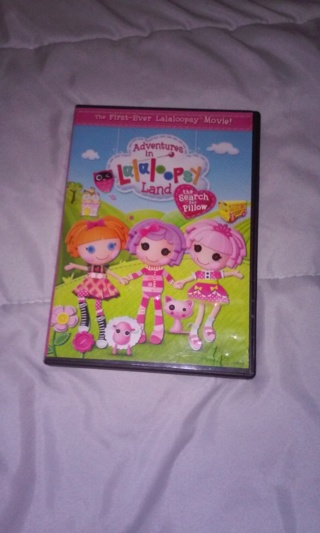 Lalaloopsy The Search for Pillow DVD
