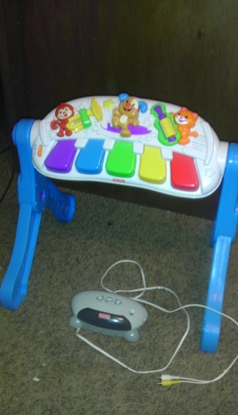Free Fisher Price Sit And Stand Piano Other Toys