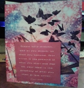 Dream - Design Blank Note Card