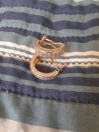 》》 Diamond/ Vermiel Earrings 《《