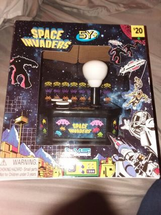 New in box Space invaders Perfect for Easter!