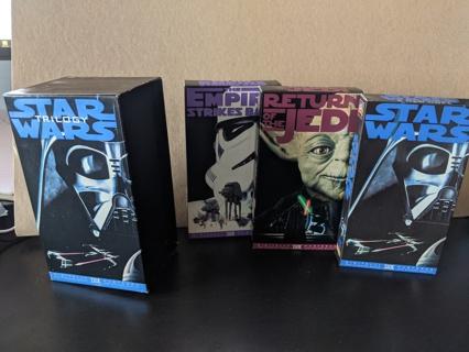 Star Wars Original Trilogy & From Star Wars to Jedi VHS