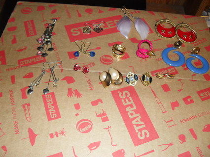 Mega lot of earrings