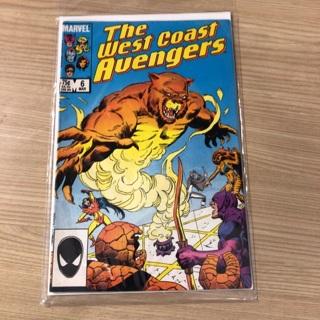 avengers, The west coast #6  marvel  1986