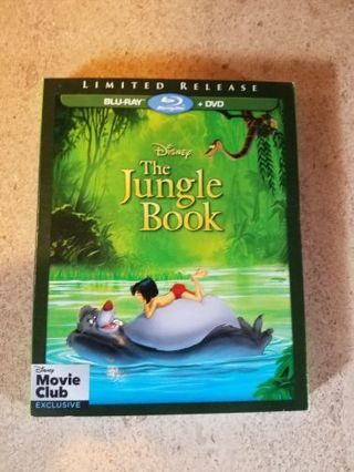 BNIP-The Jungle Book (bluray+dvd)
