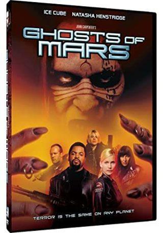 Ghosts of Mars dvd