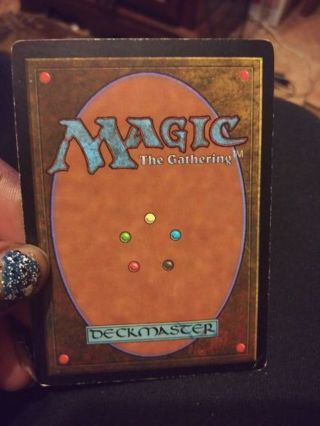 Magic The Gathering Card (2)